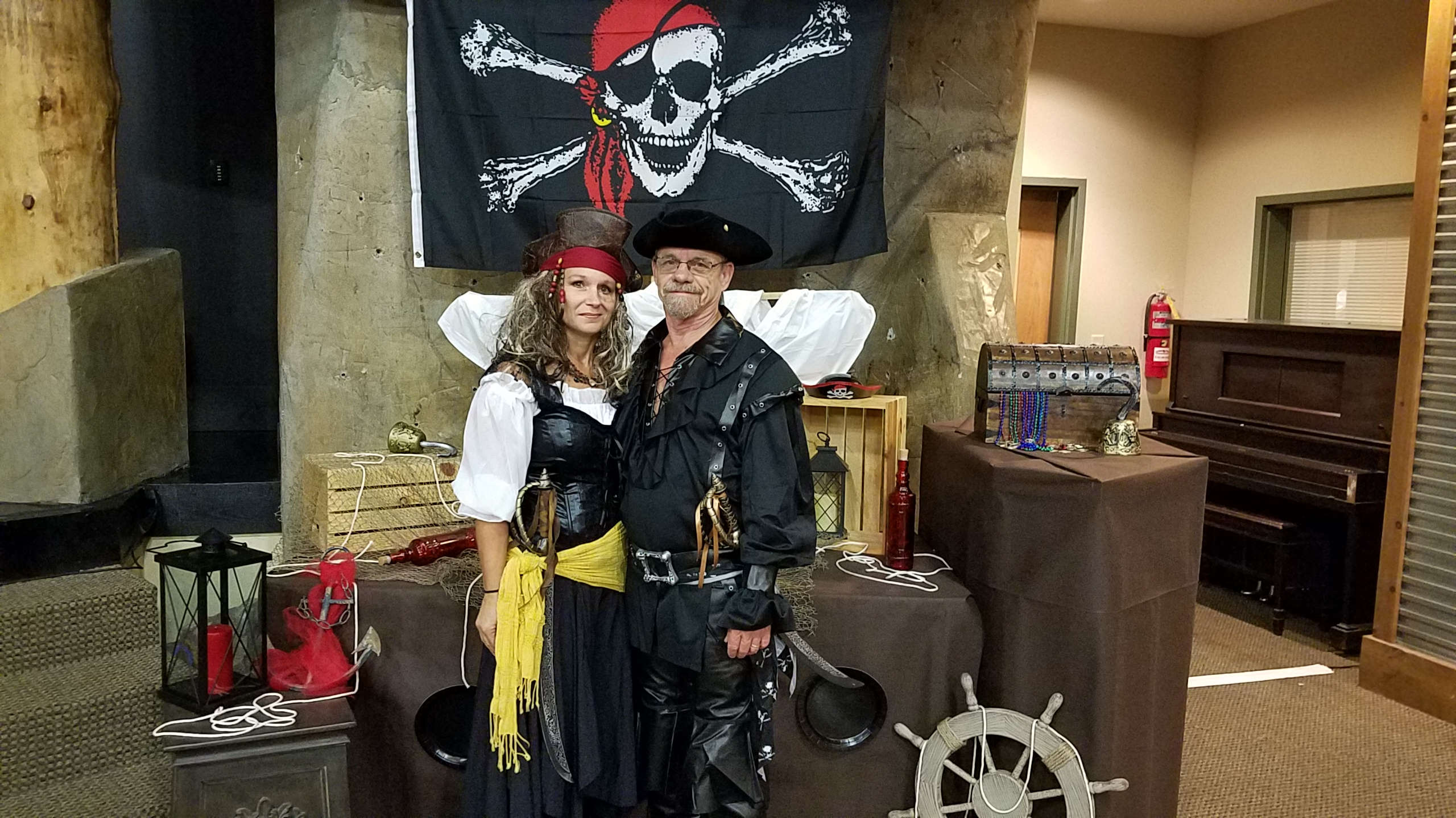 Captain Hook and Mrs. Captain Hook