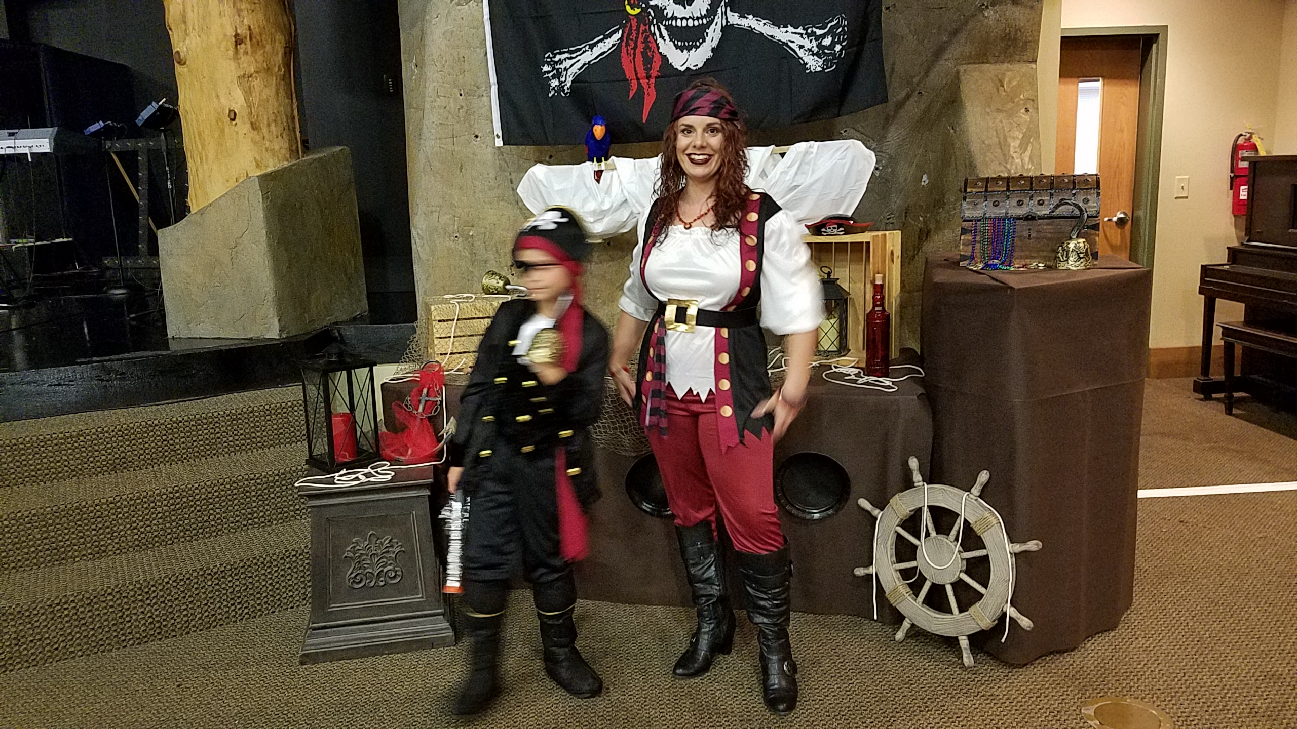 The 1st Mate and his cabin girl